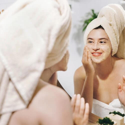 Simple tricks for clearer skin